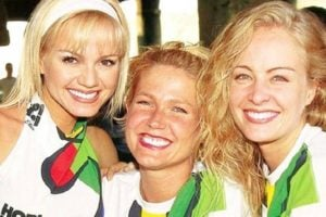 As apresentadoras Eliana, Xuxa e Angélica (Reprodução)