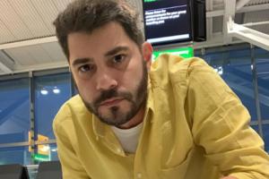 Evaristo Costa foi, finalmente, desmascarado (Foto: Reprodução/ Instagram)