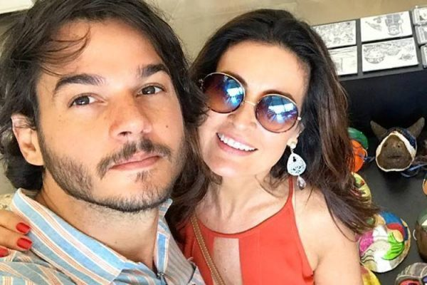 A apresentadora da Globo, Fátima Bernardes e o seu namorado, o Deputado Túlio Gadêlha (Foto: Reprodução/Instagram)
