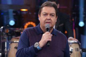 Faustão se irritou ao vivo na Globo com produção do seu programa (Foto: Divulgação)