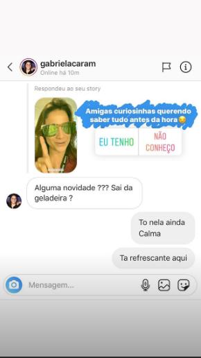 A apresentadora e jornalista, Fernanda Gentil abriu o jogo pela primeira vez e falou sobre a geladeira da Globo (Foto Reprodução/Instagram)