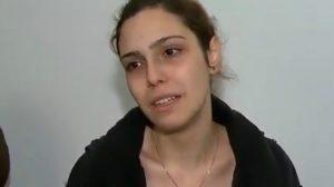 A namorada do ator Rafael Miguel, que foi assassinado (Foto: Reprodução)