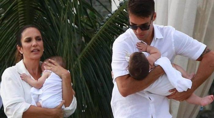 Ivete Sangalo e Daniel Cady (Foto: AgNews)