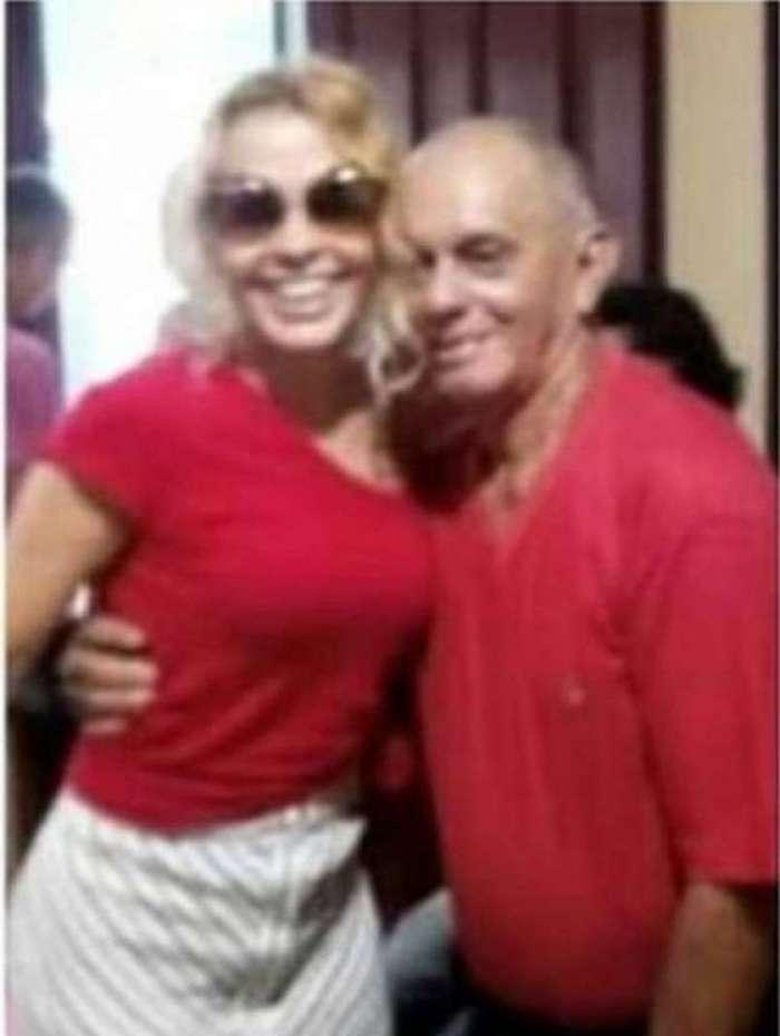 Joelma e o pai, José Mendes (Foto: Reprodução)