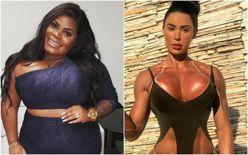 A cantora carioca Jojo Todynho, se comparou a modelo Gracyanne Barbosa
