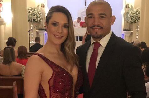 Vivianne Aldo e José Aldo (Foto: Reprodução/Instagram)
