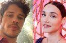 Os atores, José Loreto e Débora Nascimento se separaram em fevereiro, juntos eles tem uma filha (Montagem: TV Foco)