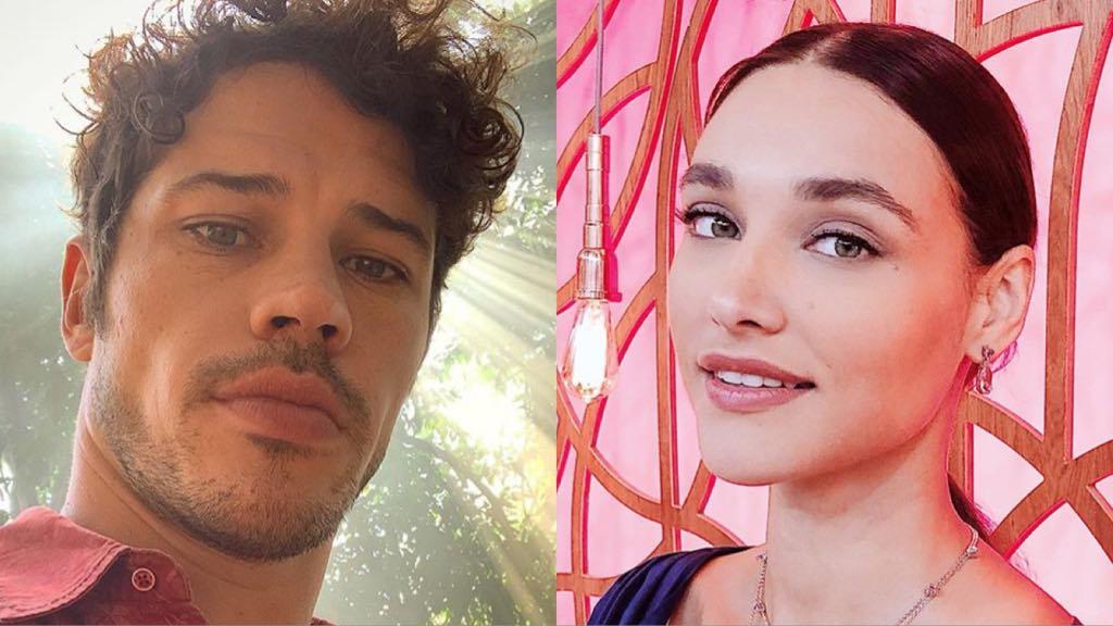 O atores, José Loreto e Débora Nascimento (Montagem: TV Foco)
