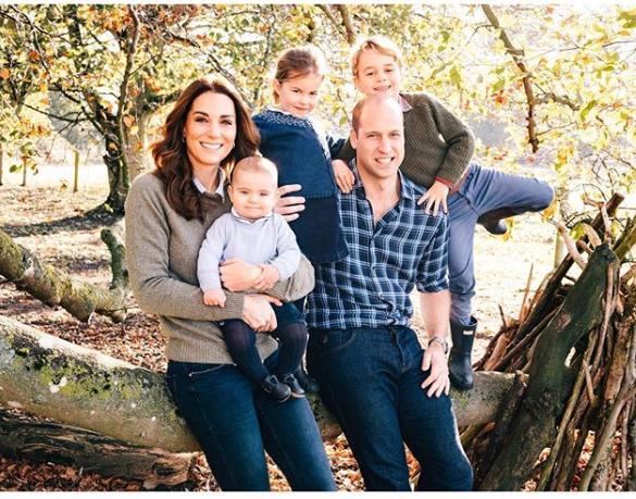 Kate Middleton, Willian e filhos (Foto: Reprodução)