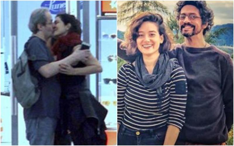 após Letícia Sabatella ser flagrada aos beijos com ator da Globo, ex-marido posa com nova namorada 20 anos mais nova