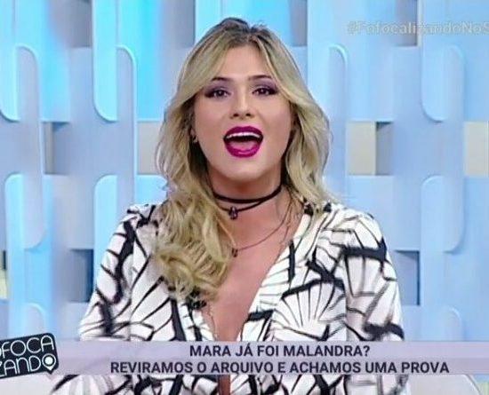 Lívia Andrade, apresentadora do Fofocalizando (Foto: Reprodução/SBT)