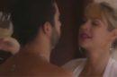 Luana Piovani e Pedro Scooby aparecem trocando carícias em chamada de novo programa da atriz (Imagem: Repsodução)