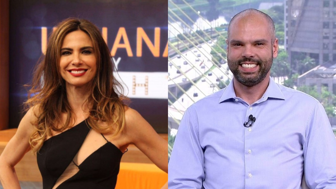 Luciana Gimenez e Bruno Covas (Foto: Divulgação/TV Globo/RedeTV! - Montagem/TV Foco)