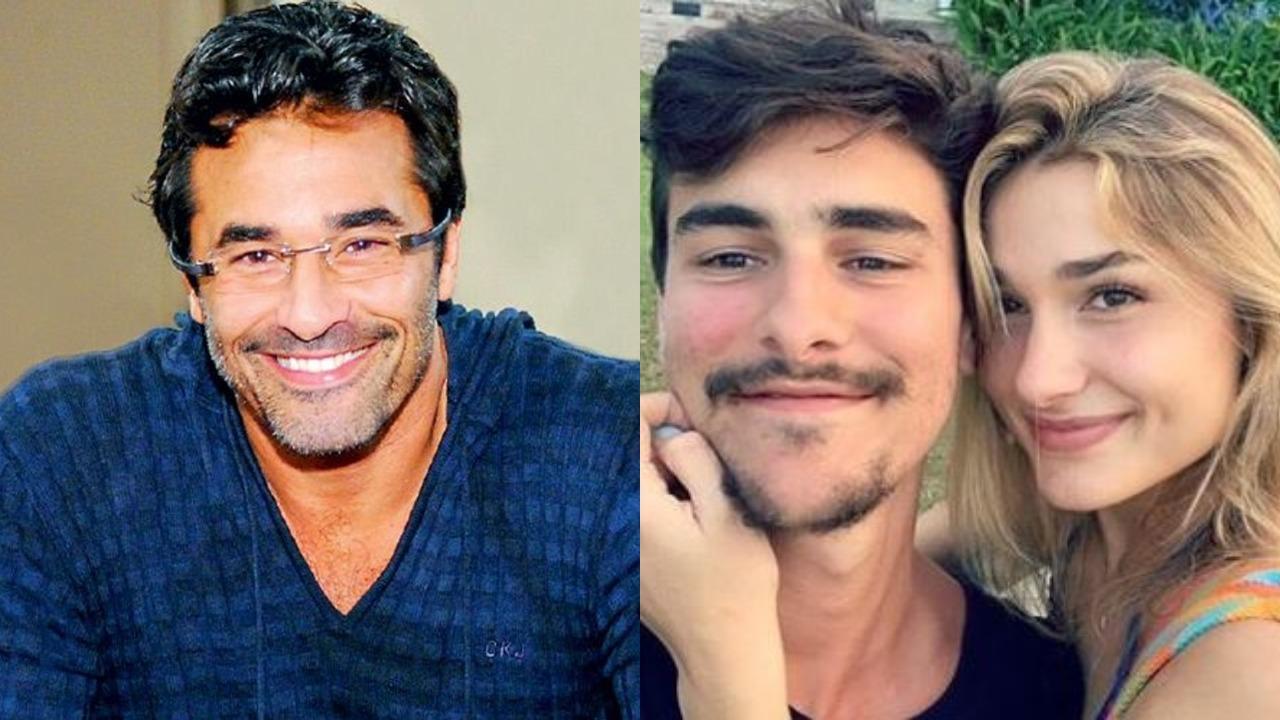 Luciano Szafir, Sasha Meneghel e Bruno Montaleone (Foto: Montagem/TV Foco)