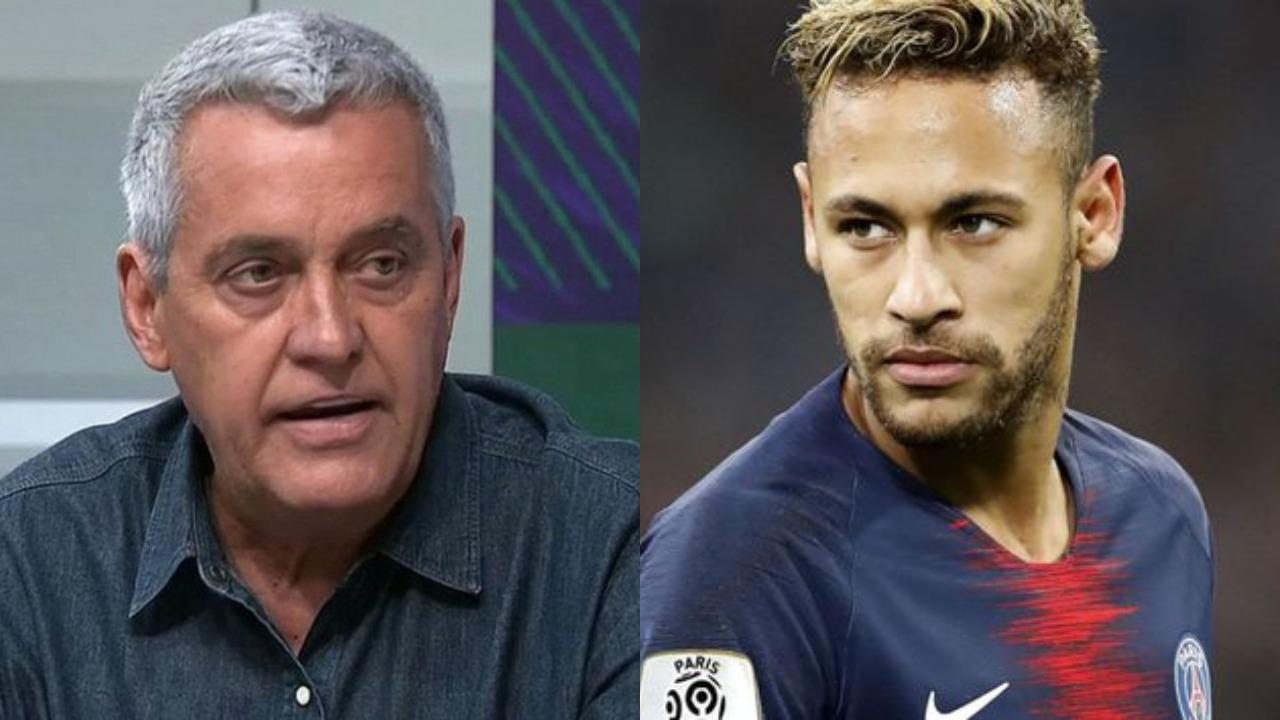 Mauro Neves e Neymar (Foto: Divulgação/Montagem - TV Foco)