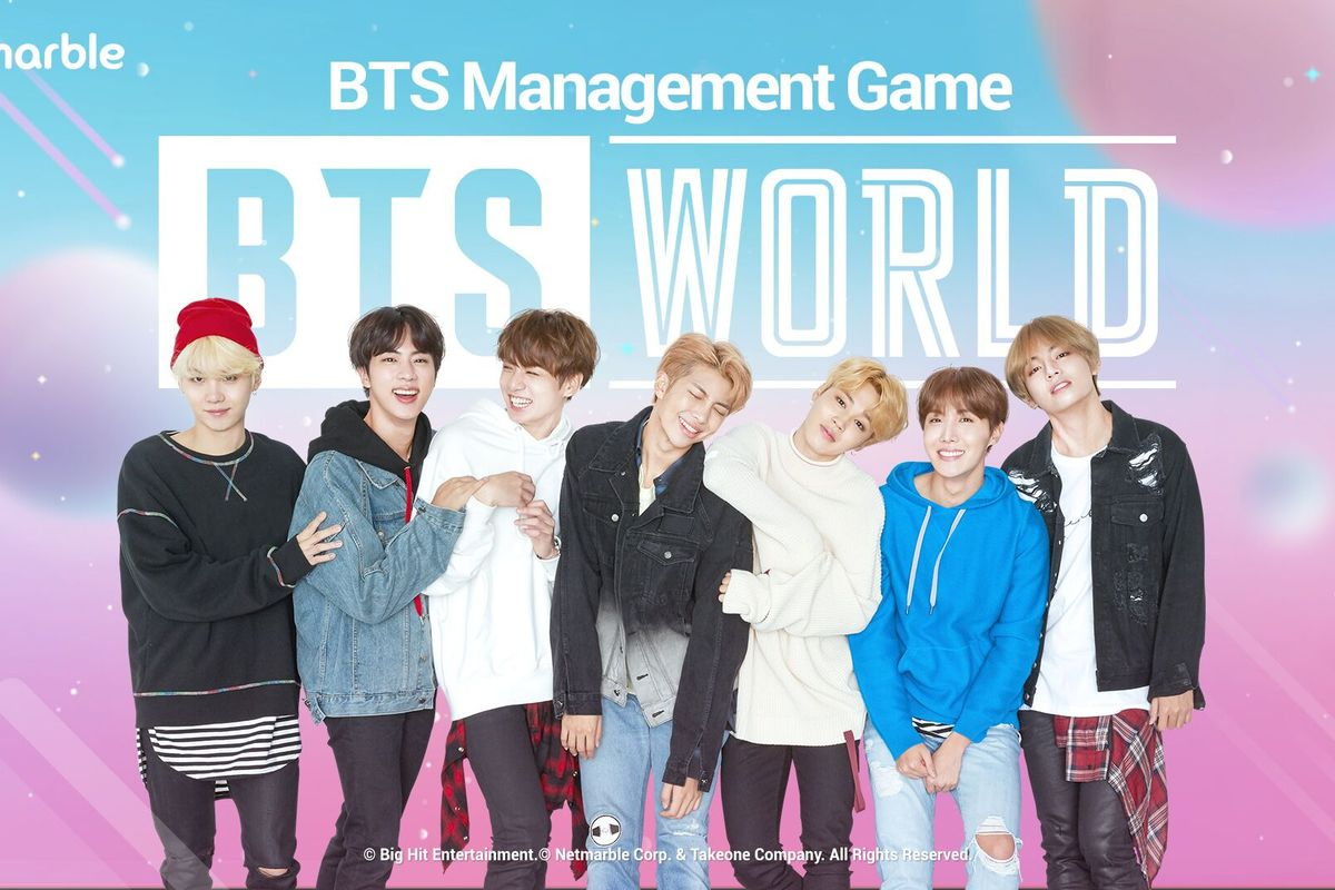 O grupo BTS vai ganhar um jogo com o nome BTS World (Foto: Reprodução)