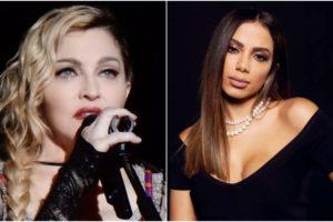 Madonna faz muitos elogios a sua parceira de gravação Anitta (Foto: Reprodução)