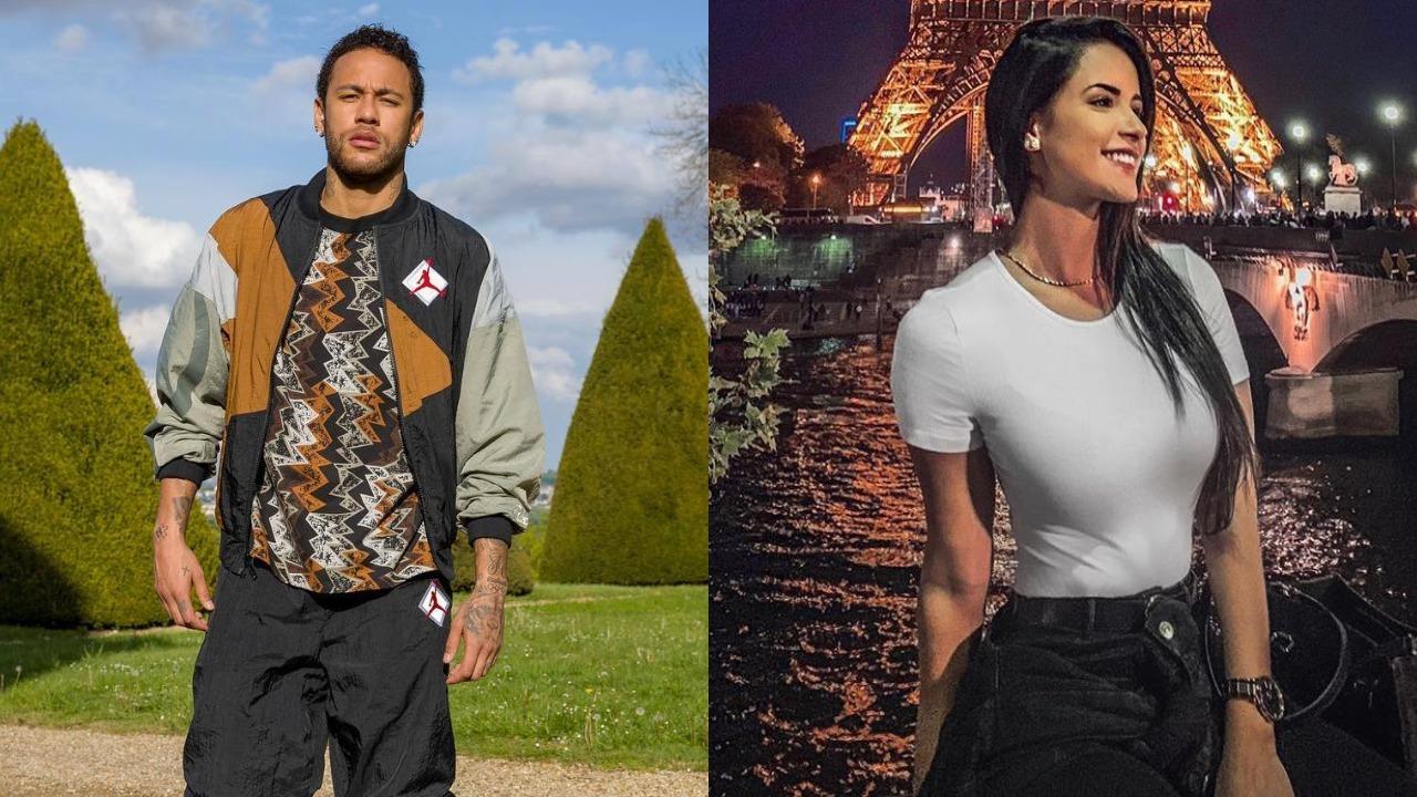 Neymar e Nathália Félix (Foto: Reprodução/Instagram - Montagem/TV Foco)