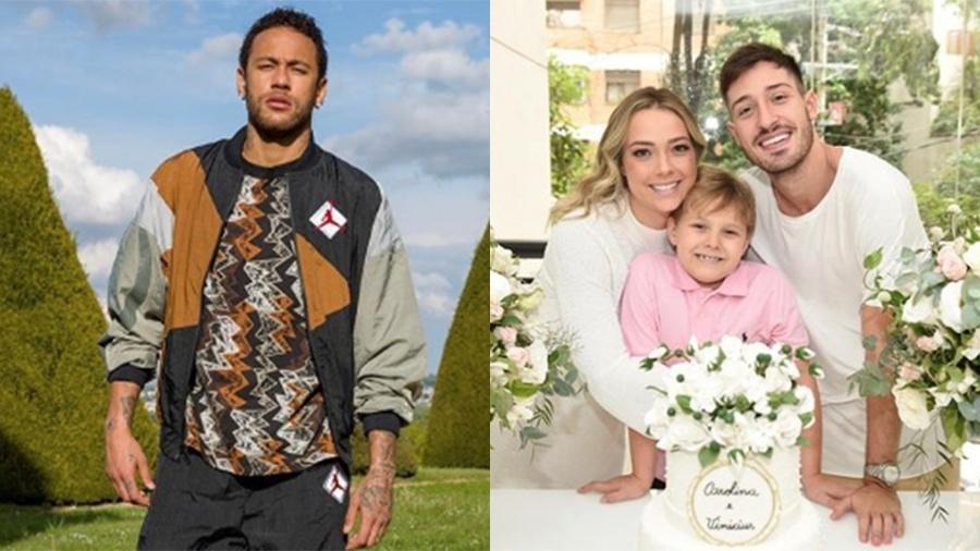 Neymar acabou parabenizando Carol Dantas por seu casamento com Vinicius Martinez