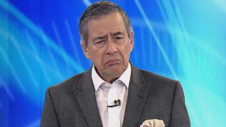 """Paulo Henrique Amorim comanda o """"Domingo Espetacular"""" (Foto: Reprodução/Record)"""