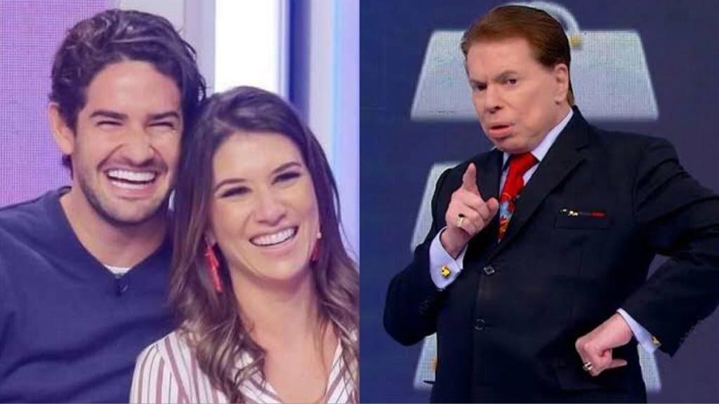 Rebeca Abravanel, Alexandre Pato e Silvio Santos (Montagem: Tv Foco)