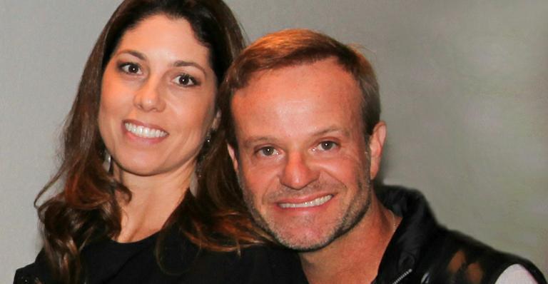 Rubens Barrichello e Silvana Giaffone (Foto: Divulgação)