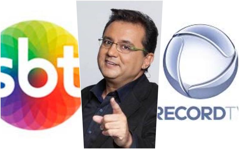 Após perder audiência para o SBT, Record resolve apostar novamente em Geraldo Luis (Montagem TV Foco)