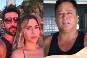 Sandro Pedroso e Jessica Costa e Leonardo (Foto: Reprodução/Instagram - Montagem/TV Foco