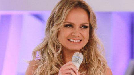 A apresentadora Eliana estava ligada na concorrência neste domingo (24) (Foto: Reprodução)