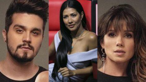 Simaria, Luan Santana e Paula Fernandes (Foto: Montagem/TV Foco)