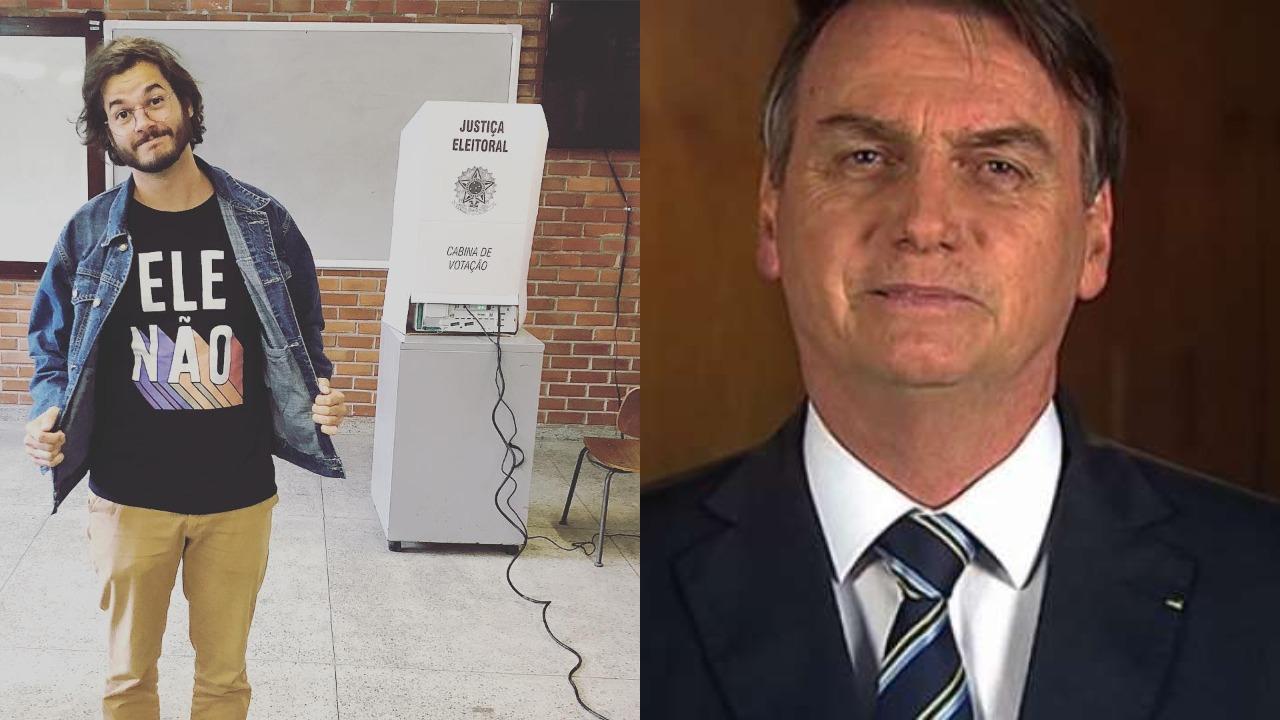 Túlio Gadêlha e Jair Bolsonaro - fátima bernardes (Foto: Reprodução/Instagram - Montagem/TV Foco)