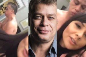 Fábio Assunção tem novo vídeo íntimo vazado onde aparece fora de si (Foto reprodução)