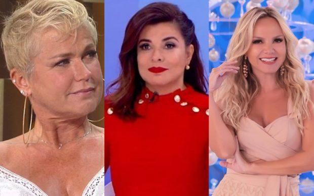Xuxa, Mara Maravilha e Eliana - Montagem