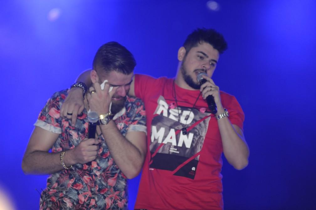 Zé Neto e Cristiano - Foto: Júlio Cesar Costa/G1