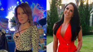Zilu Camargo e Graciele Lacerda, atual noiva de Zezé Di Camargo (Montagem/TV Foco)
