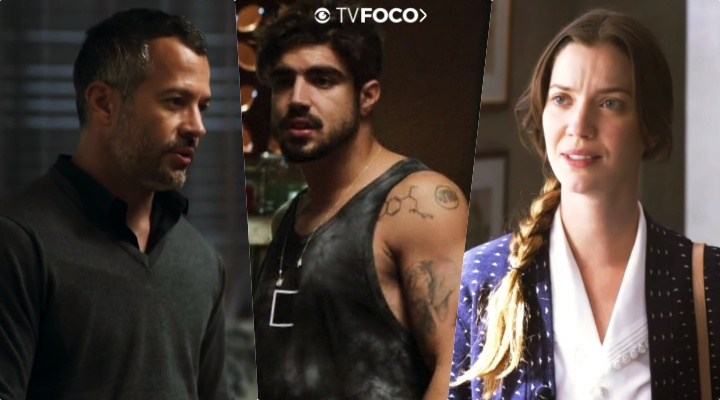 Salvador) saberá de golpe de Fabiana (Nathalia Dill), mas se apaixona por Rock (Caio Castro) em A Dona do Pedaço da Globo
