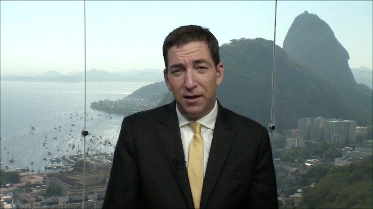 Glenn Greenwald acusou a Globo de agir em conluio com a Lava Jato e Sergio Moro (reprodução)
