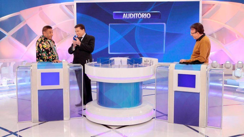 Agnaldo Timóteo no Programa Silvio Santos do SBT (Foto: Reprodução)