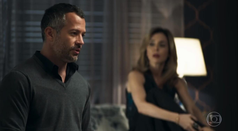 Na novela A Dona do Pedaço o personagem de Malvino Salvador, Agno não quer a esposa porque é gay na Globo