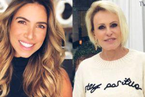 Ana Maria Braga e Patrícia Abravanel são apresentadoras do SBT e da Globo