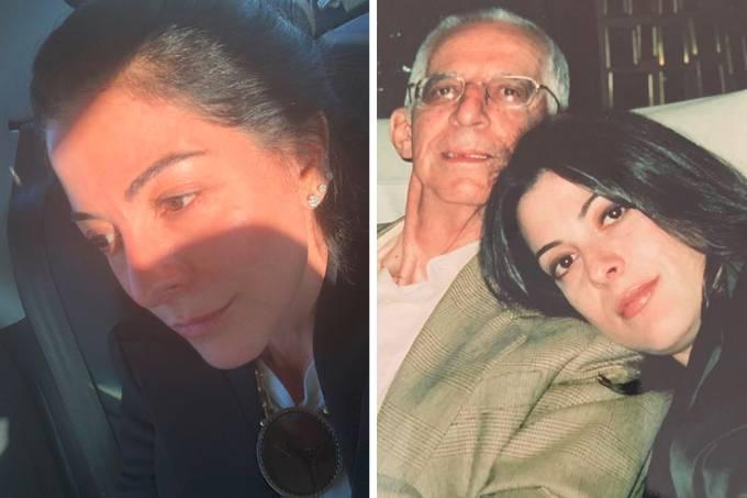 Ana Paula Padrão perdeu o pai após infarto e falou no Instagram (Foto: Reprodução/Internet)