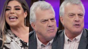 Pedro Bial passou vergonha ao vivo durante o Conversa com Bial na Globo