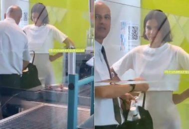 Bruna Marquezine foi enquadrada pela polícia em aeroporto