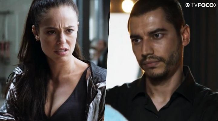 Vivi (Paolla Oliveira) será vítima de vingança de Camilo (Lee Taylor) em A Dona do Pedaço (Foto: Reprodução/Globo)