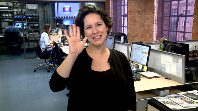 Globo promoveu a dança das cadeiras e afetou uma jornalista (Foto: Reprodução)
