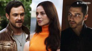 Chiclete (Sergio Guizé) e Vivi (Paolla Oliveira) serão flagrados por Camilo (Lee Taylor) em A Dona do Pedaço (Foto: Reprodução/Globo)