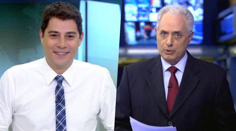 Fora da Globo, Evaristo Costa e William Waack, provocam reviravolta, são contratados por grande emissora e registro oficial é divulgado
