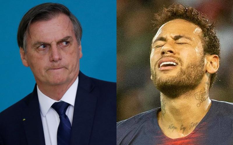"""Jair Bolsonaro apoia Neymar que é acusado de estupro e revela o que fará quando encontrar o jogador: """"Acredito nele"""""""