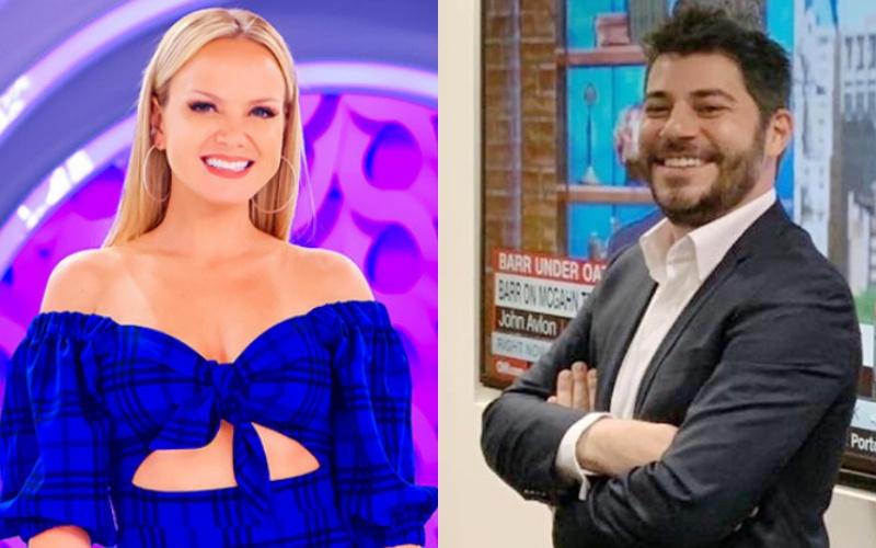 """Eliana faz comentário picante na foto de Evaristo Costa e deixa fãs assustados: """"Não sabia que era bom com as bolas"""" Foto: Montagem Tv foco"""