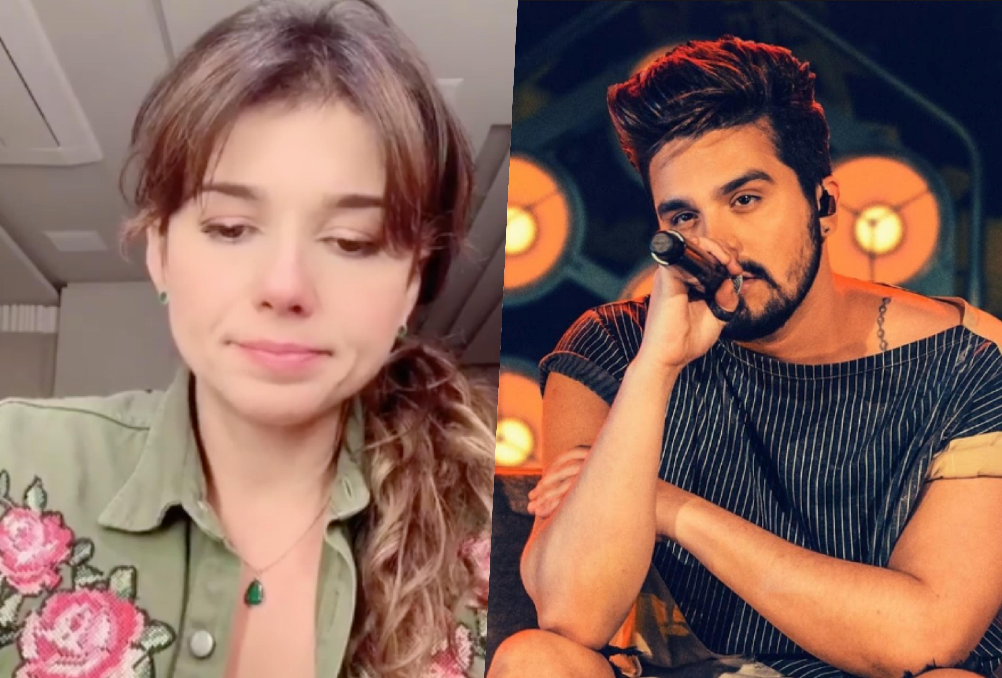 Paula Fernandes soube da triste notícia de Luan Santana (Foto montagem: TV Foco)